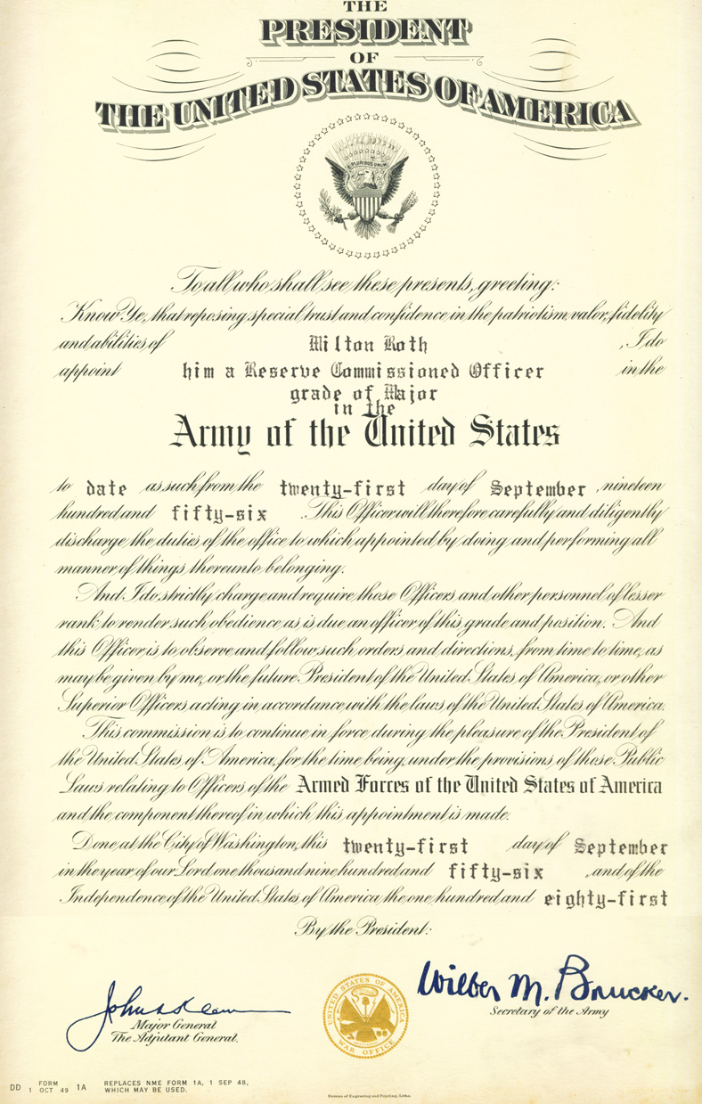 officer promotion certificate template - 28 images - army ...
