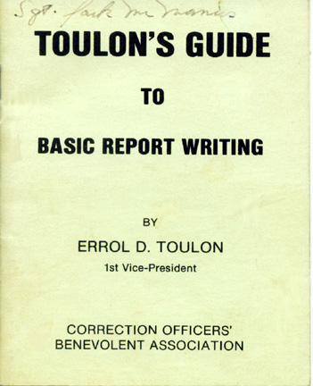 guide to report writing Details like contradictions may be relevant to the police report also, details such as verbal exchanges and conversations should all be included in the contemporaneous notes additional tips for great police report writing presented below are some tips for proper police note taking and report writing.